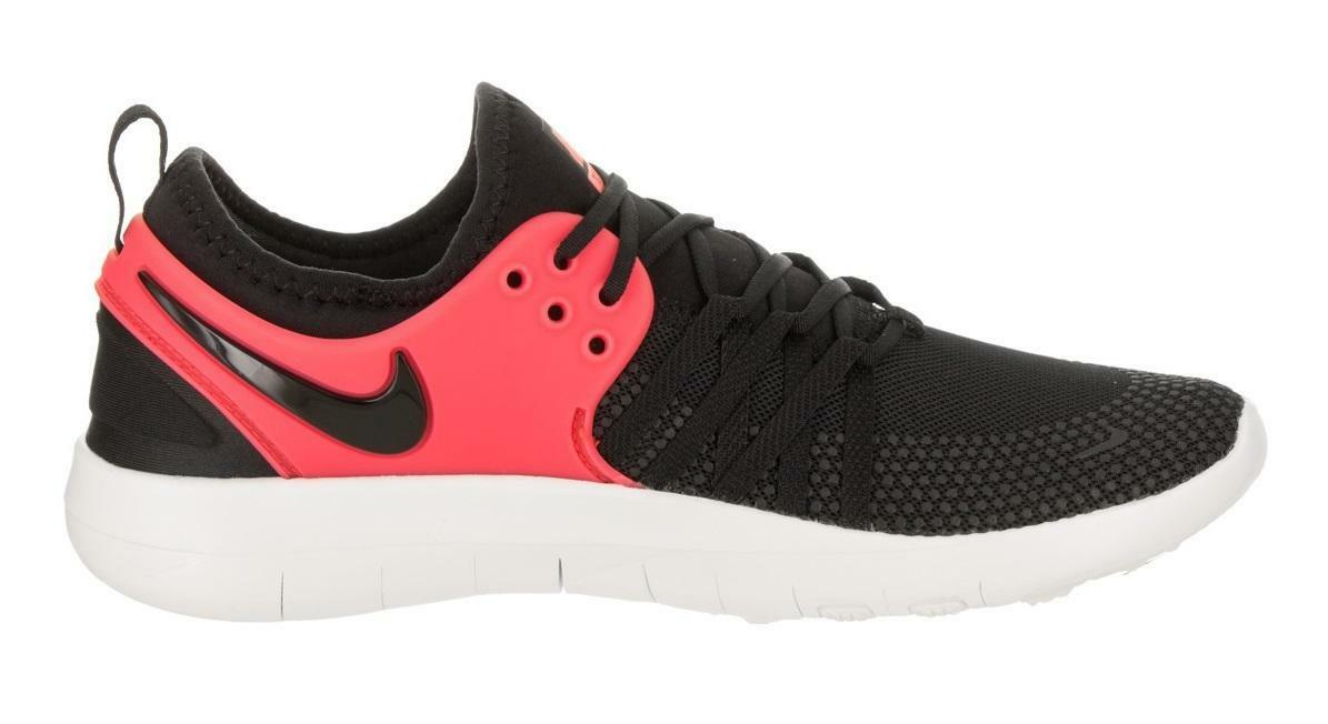 Femme Nike Free TR 7 Noir/Solar Rouge Baskets 904651 011