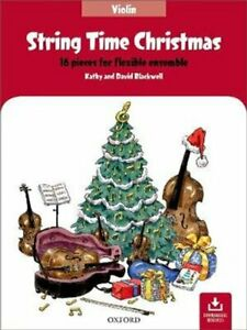 String-Time-Christmas-16-pieces-for-flexible-ensemble-9780193528062-Brand-New
