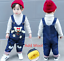26-style-Kids-Baby-Boys-Girls-Overalls-Denim-Pants-Cartoon-Jeans-Casual-Jumpers thumbnail 64