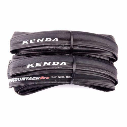 Kenda K1092 Kountach Pro 700x23c Road Bike Black Tire Clincher R2C Compound Tyre