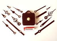 Replacement Quartz Clock Movement Mechanism Motor & Metal Hands & Fittings - DIY