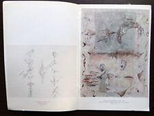 Catalogue VERNISSAGE Exposition AMARAL Galerie ALBERT LOEB 1974