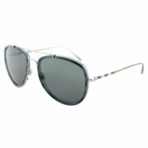 Burberry-BE-3090Q-100887-Blue-Havana-Brushed-Gunmetal-Sunglasses-Grey-Lens
