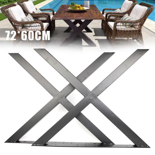24inch Table Legs Frame Stainless Legs for Dining Table Desk Cabinet Leg