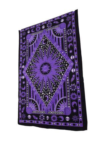 Mandala Tapestry Indio Decoración Colgante De pared Hippie Bohemio Tirar Doble Colcha