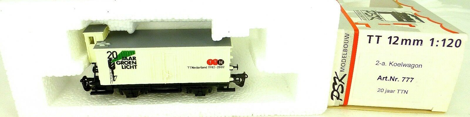 Psk 777 20 Jaar verde Luz Ttn 2-a Koelnwagon Tt Paises Bajos 1982-2002 1 120 Å