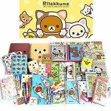 San-x Rilakkuma Assorted School Supply Pen Pencil Note Stationary Gift Set