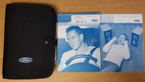 GENUINE FORD TRANSIT 2006-2013 HANDBOOK MANUAL AUDIO WALLET PACK G-73