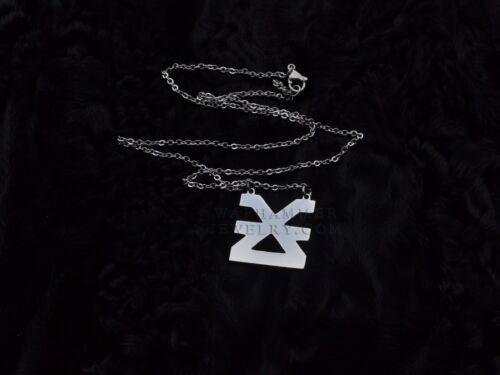 Khorne Pendant Stainless Steel Chaos God Necklace Warhammer 40k Logo Symbol