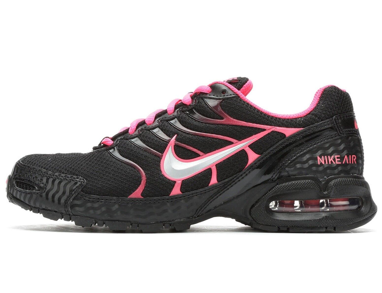 Nike Air Max Torch 4 Womens 343851-006 Black Pink Flash Running Shoes Size 10