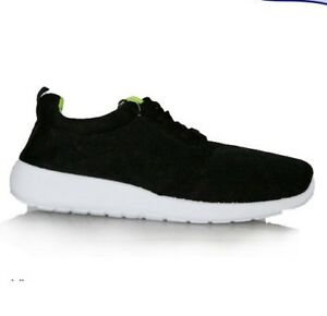 Mens Size 6 Black Sports Trainers