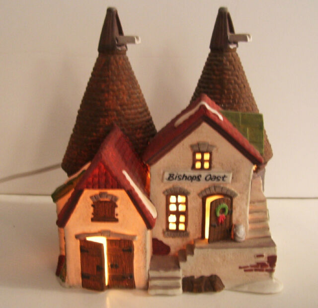 Department 56 Christmas  Dickens Village Bishops Oast House No. 55670, 1990