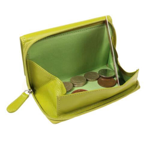 Vitali 100/% Echtleder Kreditkarteninhaber Geldbörse Bunt Geldbörse