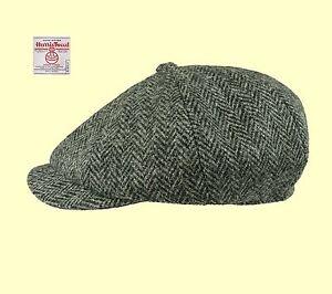 Failsworth-Grey-Harris-Tweed-Carloway-Newsboy-Baker-Boy-Peaky-Shelby-Cap