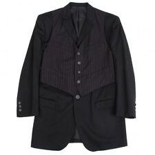 Jean-Paul GAULTIER HOMME Vest Wool Jacket Size 50(K-48387)