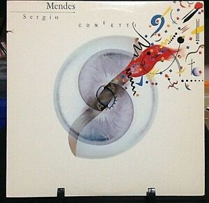 SERGIO-MENDES-Confetti-Album-Released-1983-Record-Vinyl-Collection-USA