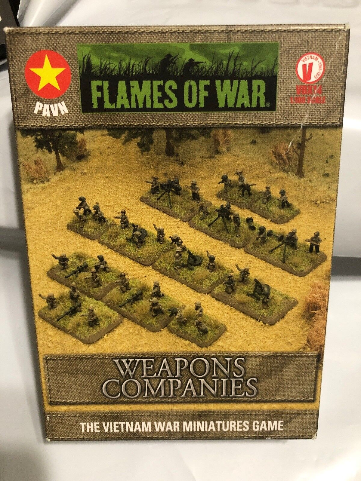 FLAMES OF WAR VBX14 WEAPONS COMPANIES