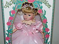 Ballerina Genuine Porcelain Doll By Melissa Jane Victorian Collection 1996 10783