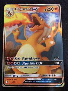 Pokemon Card Hidden Fates Charizard GX 9//68 Ultra Rare Holo