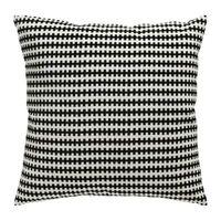 Stockholm Ikea Cover & Duck Feather Insert Black White Soft Cotton Velvet 20x20