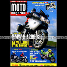 MOTO MAGAZINE N°215 BMW R 1200 RT SUZUK 650 BANDIT KAWASAKI Z750 S HONDA ST 1300