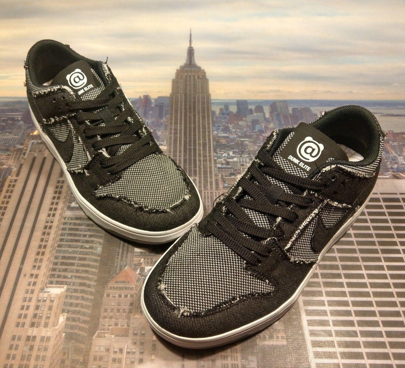 Nike SB Zoom Dunk Low Elite QS Medicom Bearbrick Men's Size 5 877063 002 New