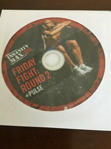 Details about BEACHBODY INSANITY MAX 30 FRIDAY FIGHT ROUND 2 & PULSE  REPLACEMENT DISC