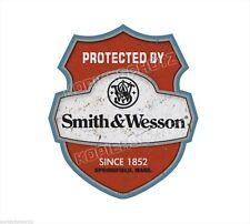 Smith & Wesson Aufkleber Sticker Rockabilly Oldschool Retro Hot Rod US Cars V8