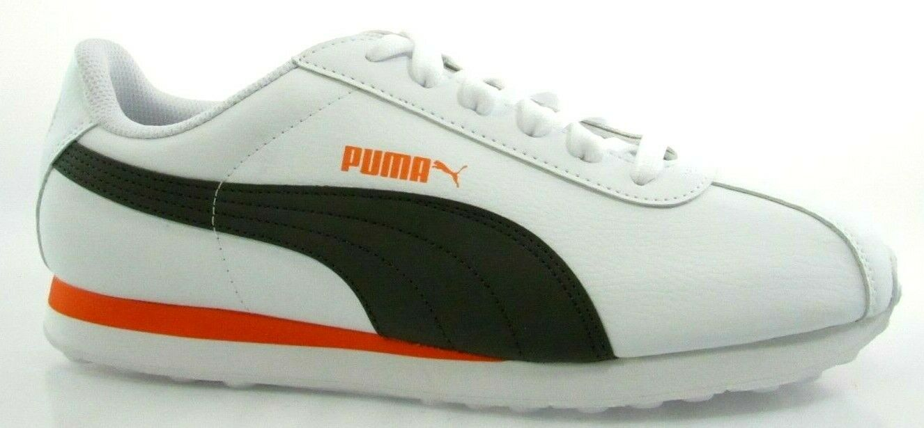PUMA TURIN MEN'S WHITE FOREST NIGHT SNEAKERS  360116-29