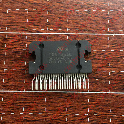 1PCS  TDA7851L IC AMP QU BRIDGE FLEXIWATT25 TDA7851 ZIP25
