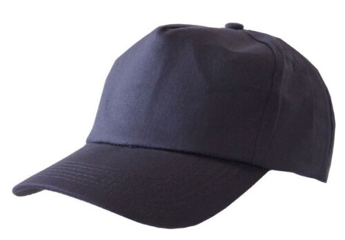 Click Structured 5 Panel Low Profile Standard Curved Peak Baseball Cap Hat Work