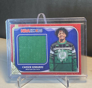 Carsen-Edwards-2019-20-Panini-Hoops-Winter-Sweater-Patch-Card-Rookie-RC