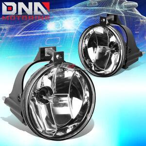 DNA MOTORING FL-NS051-CH Front Bumper Fog Light,Clear