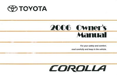 2011 Toyota Corolla Owners Manual User Guide Reference Operator Book Fuses Fluid