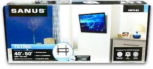 Sanus-VMT5-B2-TV-LCD-Wall-Mount-Bracket-TV-40-034-50-034-lt-Vesa-400-x-400-lt-34kg