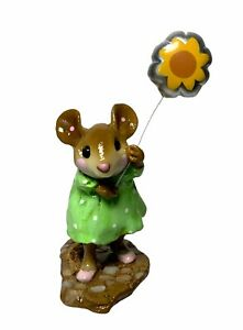 "Wee Forest Folk: ""Pokie"" Mouse Parade, Sunflower, Collectible, Retired, MP-7"