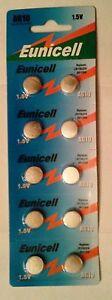 Eunicell-10-Piles-AG10-LR54-D389-D39-SR1131-SR54-S09-SR1130SW