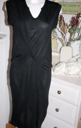 Noir En Taille Viscose Maillot Dress Nouveau Courtes Noa X Manches Autum Dress 4Ixq0