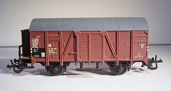 "08 206 Zeuke Piste-tt ""sécurisées Wagons Dr G Avec Guérite (marron)"""