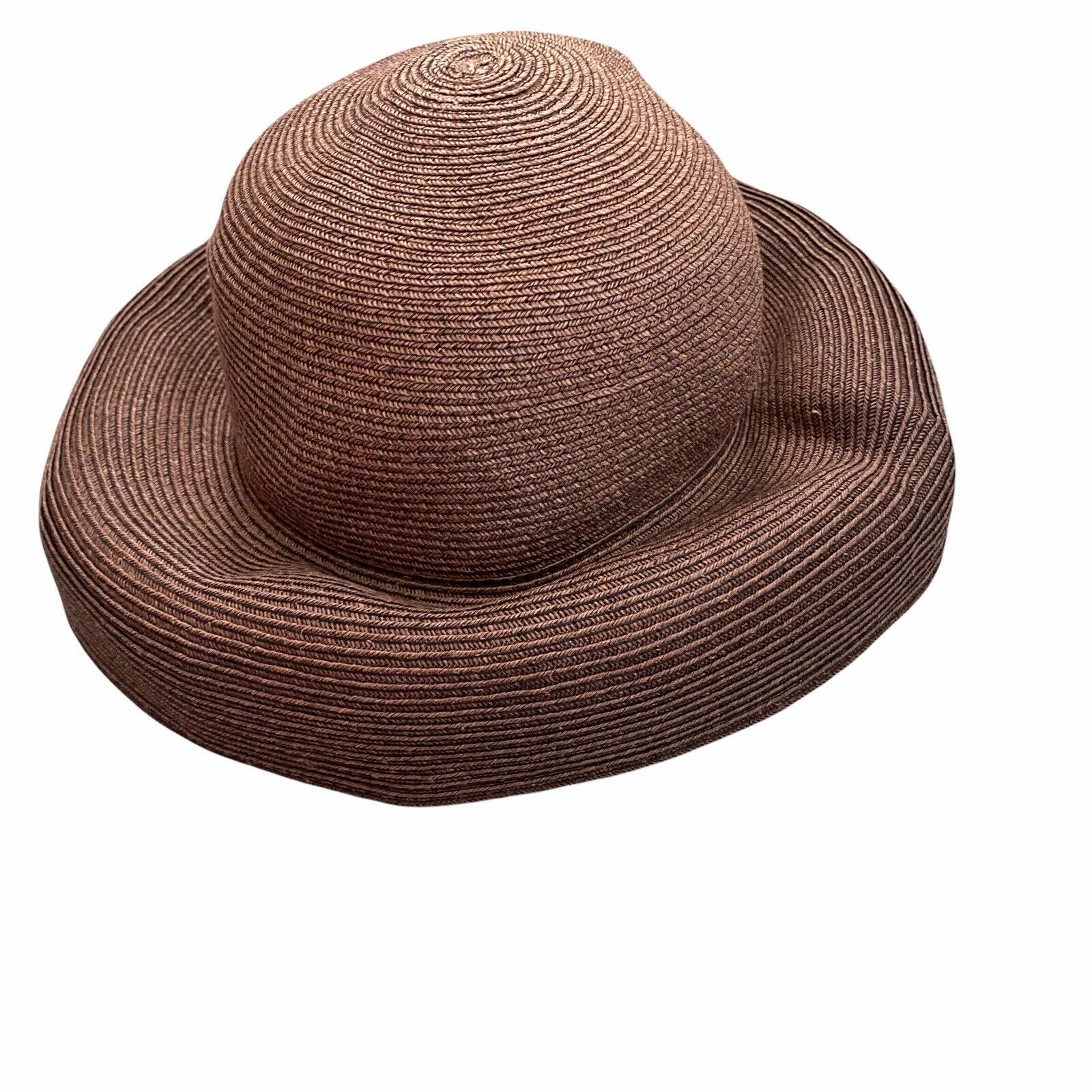 Eric Javits Squishee Packable Straw Hat Wide Brim… - image 11