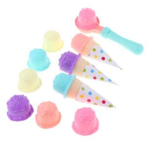 Детские ролевые игры пластик мороженое торт наборы ролевая кухня еда игрушки