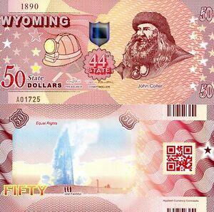 ACC STATE NOTE SERIES: OKLAHOMA $50 POLYMER FANTASY ART