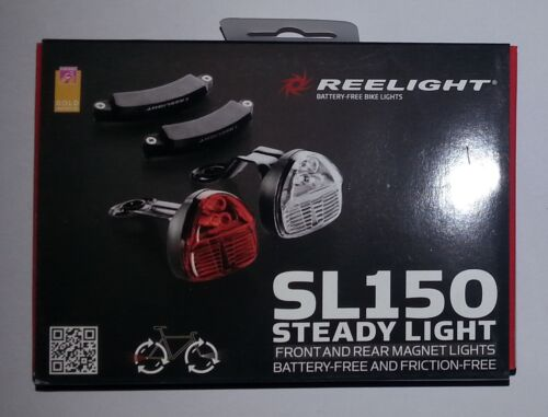 Reelight SL150 LED Bike Bicycle Cycling Front Head Rear Tail Lamp Light Set
