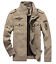 Mens-Jacket-Aviator-Jacket-Transition-Jacket-Bomber-Jacket-Military-Pilot-Jeans thumbnail 9