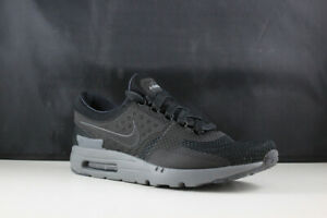 cheap for discount a3d2c db3f7 Details about Nike Air Max Zero QS size 9.5 Mens black/dark grey 789695-001