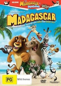 Madagascar-DVD-2005-R4-Terrific-Condition-Dreamworks