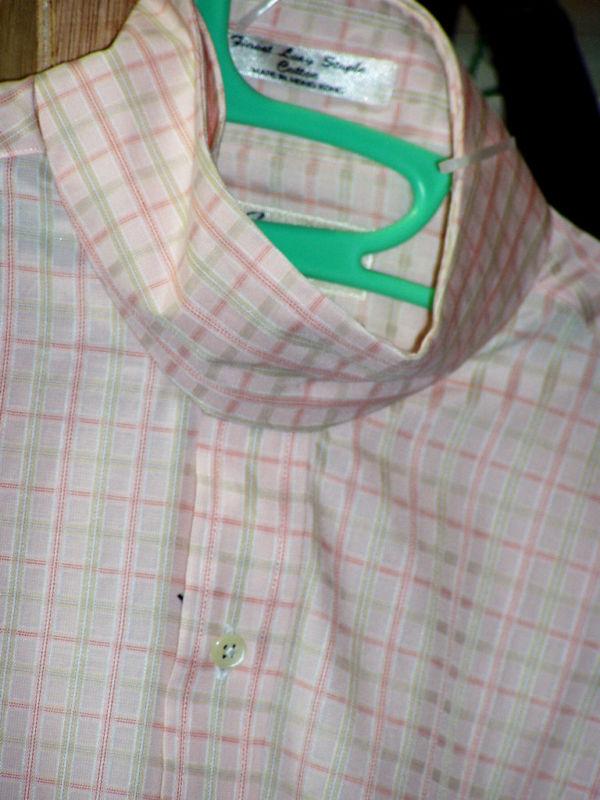 Esses Signature Collection Riding Shirt Pink Tan Sz 36