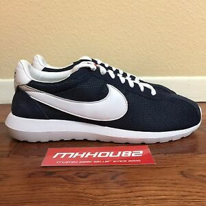 Nike Roshe LD 1000 QS Men's Size 11 ObsidianWhite Run Fragment Shoes 802022 401
