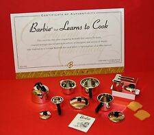 NEW! NRFP Vintage BARBIE Reproduction #1634 LEARNS TO COOK Complete POT ASSEMBLY