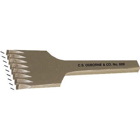 """Pricking Chisel: 5//64/"""" No 609-9 C.S Osborne /& Co 8 Cuts Per Inch"""